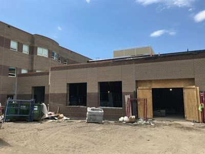 Cafeteria Addition at Marcy Open School